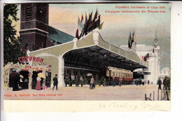 EISENBAHN - Railway, Compagnie Internationale Des Wagons Lits, Expo 1905 Liege - Eisenbahnen