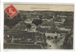 CPA CHAOURCE (Aube) - A Vol D'oiseau Côté Est - Chaource