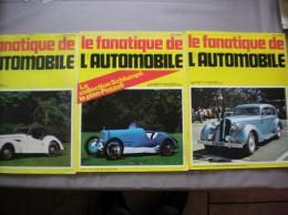 L´ALBUM DU FANATIQUE DE L´AUTOMOBILE N° 102,103,105 MARS AVRIL JUIN 1977 - Auto