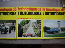 L´ALBUM DU FANATIQUE DE L´AUTOMOBILE N° 106,107,108 JUILLET AOUT SEPTEMBRE 1977 - Auto