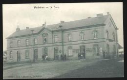 cpa marbehan   gare  1910