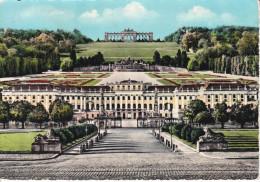 Austria--Viena--1962--Castle Of Schoembrunn--The Gloriette--Cachet-Wien-pour, France - Castillos