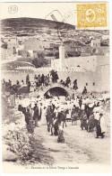 Israel - Nazareth Fontaine De La Ste Vierge - Carte Affr.Timbre Ottoman 5 Paras Taxée Exp. En France - Israel