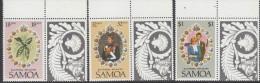 SAMOA, 1981 ROYAL WEDDING 3 MNH - Samoa