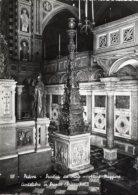 Padova - Cartolina CANDELABRO DI BRONZO (Briosco) Altare Maggiore, Basilica Di Sant'Antonio - PERFETTA  H33 - Sculture