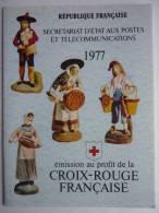 FRANCE 1977 CARNET CROIX-ROUGE YVERT N°2026 NEUF ** LES SANTONS - Carnets