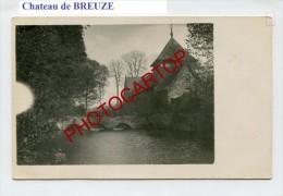 MOURCOURT-Chateau De BREUZE-Carte Photo Allemande-Guerre 14-18-1WK-BELGIEN-BELGIQUE- - Tournai