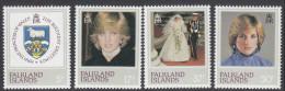 FALKLAND Is, 1982 DIANAS 21st 4 MNH - Falkland Islands