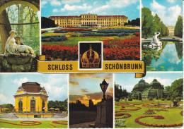 Austria--Viena--Chateau De Schonbrunn---2 Fechadores--1974--Kongress Erholung --Baden Bei Wien - Castillos