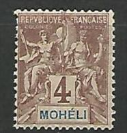 MOHELI   N� 3 NEUF** LUXE