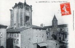 [43] Haute Loire> Saugues La Tour Et L Eglise Romane - Saugues