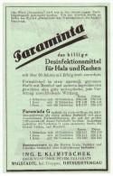 Original Werbung - 1942 - Wigstadtl / Vitkov , Desinfektion , Kur , Arzt , Krankenhaus , Apotheke !!! - Advertising