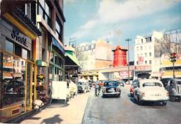 75 PARIS LE MOULIN ROUGE / VOITURES ANCIENNES - Non Classés