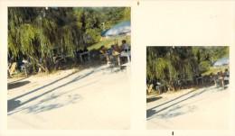 PHOTO ORIGINALE STEREOSCOPIQUE LA COLLE SUR LOUP  / 1971 - Photos Stéréoscopiques