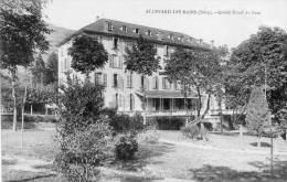 CPA - ALLEVARD(38) -  Le GRAND HÔTEL Du Parc - Allevard