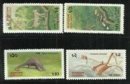 Bangladesh 1991 Endangered Animals MNH - Bangladesh