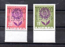 Germany Perfin Europa TOKYO 1964 - Ohne Zuordnung