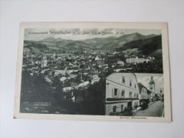 AK 1912. Österreich. Sommerfrische Waidhofen A. D. Ybbs. 358m Seehöhe. Verlag P. Ledermann 1910. Mehrbildkarte - Waidhofen An Der Ybbs