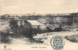 CPA 52 LANGRES VUE GENERALE - Langres