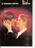 FICHE THCHNIQUE  N ° 23  DU FILM LE  DERNIER METRO    1980 - Cassettes Beta