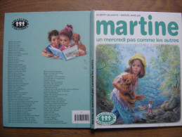 1990 MARTINE Un Mercredi Pas Comme Les Autres Delahaye Marcel Marlier Casterman FARANDOLE - Livres, BD, Revues