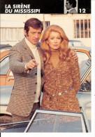 FICHE THCHNIQUE  N ° 12  DU FILM  LA  SIRENE DU MISSISSIPI  1968 - Casette Beta