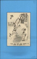 SPORTS - BASKET - Dessin Tiré D'une Revue De 1959 Et Collée Sur Papier - Vieux Papiers