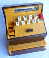 JOUET ANCIEN - CAISSE ENREGISTREUSE - CO-MA Années 60-70 - Toy Memorabilia