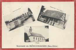 67 - SOUVENIR De MUNCHHAUSEN - Restaurant à La Rose - Pont - Eglise - Frankreich