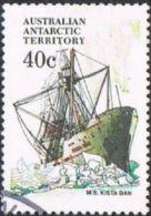 Australian Antarctic Territory SG48 1981 Definitive 40c Good/fine Used - Australian Antarctic Territory (AAT)