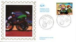 FRANCE. N°3495 De 2002 Sur Enveloppe 1er Jour. Handisport/Athétisme. - Handisport