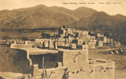 Taos Pueblo - North House - Taos - New Mexico - New Card - Etats-Unis