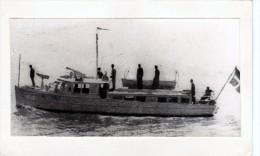 Batiment Militaire Marine Vedette Dominica Coque GC 2 En 1918 - Boats