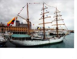 Batiment Militaire Marine Colombie Gloria Signee Martinelli 1992 - Boats
