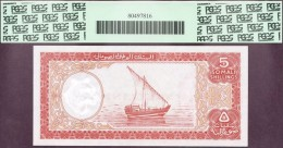 SOMALIA 1962  5 SCELLINI (5 SHILLINGS)  , Genuine Banknote - Somalia
