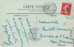 GEORGES MANDEL (1885 CHATOU 1944 ASSASSINE PAR LA MILICE  EN 1944) JOURNALISTE HOMME POLITIQUE FRANCAIS  CARTE SIGNEE - Autographes