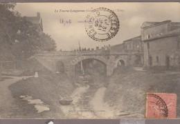 33-LE TOURNE-LANGOIRAN-Pont Sur L'Estey 1905  Animé - France