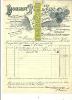 70 - Haute-saône - COUTHENANS - Facture DORMOY - Fabrique De Pièces Détachées – 1906 - REF 170 - 1900 – 1949