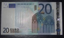 20 Euro Netherlands R017B5 DRAGHI Serie P UNCIRCULATED - EURO