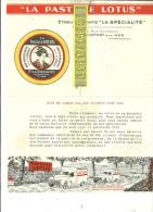 "17 - Charente-maritime - ROCHEFORT-SUR-MER - Facture ""LA SPECIALITE"" - Pastille""LOTUS"" – 0000 - REF 170 - 1900 – 1949"