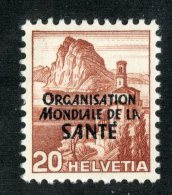 4621  Swiss 1948   Mi.#3  *   Scott #5O3  Cat. 2.50€ -Offers Welcome!- - Servizio
