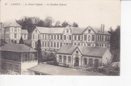 LISIEUX (14 - Calvados), Le Nouvel Hôpital, Le Pavillon Central, Ed. O. Blanche, 1915, G. RENEE - Lisieux