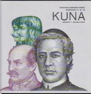 CROATIA  CROATIAN NATIONAL BANK 2001 DETAILED DESCRIPTION BANKNOTE 5,10 And 20 Kuna. - Magazines: Abonnements