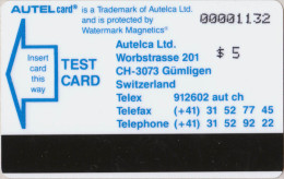 USA - Autelca - University Iowa Test - $5 - MINT - R - Schede Magnetiche