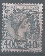 EE--252-.  N° 7,  Obl. TTB,  Cote 60.00 € , LIQUIDATION, A Saisir - Monaco