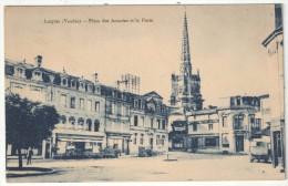 85 - LUÇON - Place Des Acacias Et La Poste - Lucon