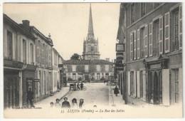 85 - LUÇON - La Rue Des Sables - AN 53 - Lucon