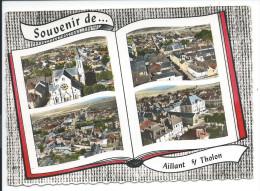 AILLANT-sur-THOLON (Yonne)    Souvenir De ...     MULTIVUES - Aillant Sur Tholon