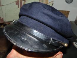 MARINE NATIONALE 14-18 1ère GM 1914-1918 : CASQUETTE OFFICIER / SOUS-OFFICIER - 1914-18