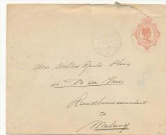 BUITENZORG - 1928 , Umschlag Nach MALANG  -  Big Letter - Dispatch: 4,00 € - Niederländisch-Indien